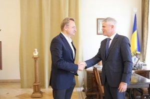 Міський голова обговорив із послом Швейцарії розвиток бізнесу у Львові