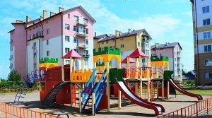За кошти громадського бюджету у Винниках облаштували сучасний ігровий майданчик
