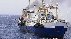 Біля берегів Мавританії горить український траулер, загинув моторист