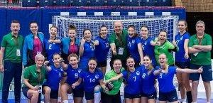 Львівські гандболістки — бронзові призерки чемпіонату Європи U-19