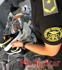 Працівники Львівської митниці вилучили фірмове спортивне взуття на суму близько 270 тисяч гривень