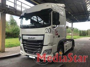 Працівники Галицької митниці викрили спробу незаконного ввезення вантажівки вартістю майже 300 тис. гривень