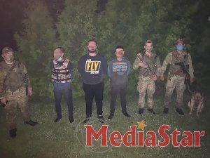 Групу нелегальних мігрантів затримали на кордоні з Польщею