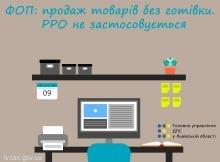 ФОП здійснює виключно безготівкові операції – РРО чи ПРРО застосовувати не обов'язково