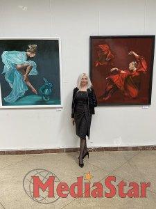 «Жінка - та пристрасть, яку годі розгадати», - Зоряна Павлишин презентувала картини на «Весняному салоні - 2021»