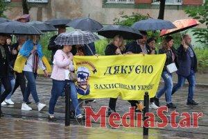 З нагоди Дня Незалежності у Львові відбувся Марш нескорених