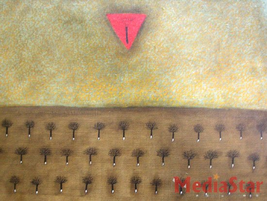 Виставка живопису Ігоря Романко: Символи, що перетворюються на ідеї (ФОТОРЕПОРТАЖ)