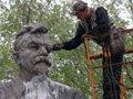 У Києві демонтували пам'ятник одному із організаторів Голодомору