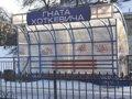 Зупинку рейкового автобуса у Львові розтрощили вандали (ФОТО)