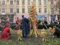 На Різдво в центрі Львова встановлять дідух