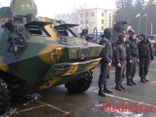 У Львові відбудись перегони бронетранспортерів (ФОТО, ВІДЕО)