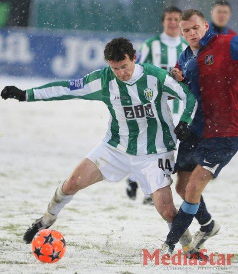 Снігове побоїще: «Карпати» - «Арсенал» -3:3 (ФОТОРЕПОРТАЖ)