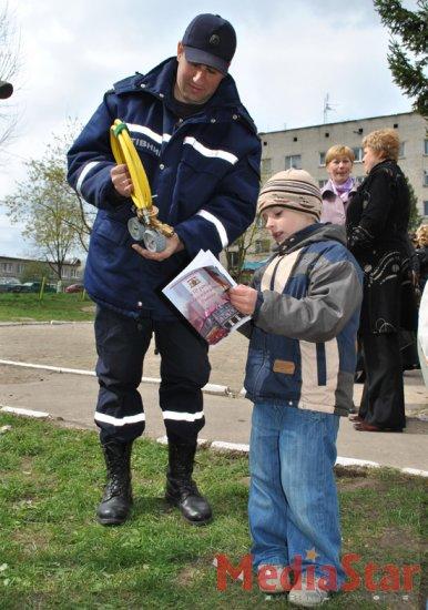 Львівські дошкільнята відчули атмосферу Євро-2012 (ФОТО)