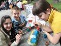 У Львові діти розмальовували «запорожців» (ФОТО)